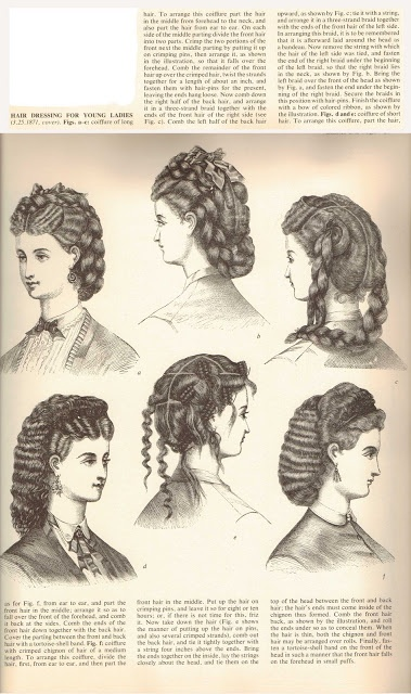 In 1872, Marcel had introduced his famous Marcel wave using a heated iron that imitated the natural curl of the hair. Hot tongs were applied to produce a curl rather than a crimp. Done at intervals over the head, the hair would assume the look of moiré.   It revolutionized the art of hairdressing all over the world. The Marcel wave remained popular for almost half a century and helped usher in a new era of women's waved and curled hairpieces, which were mixed with the natural hair.