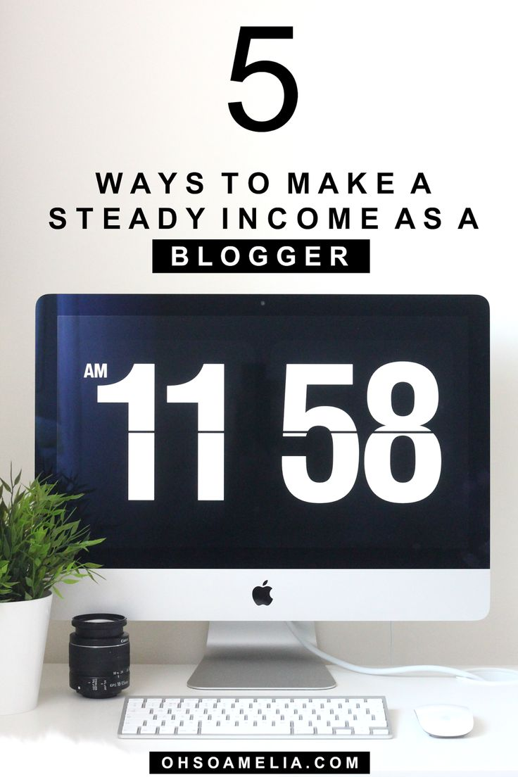 Want to earn a steady income from your blog? Find out how myself and many other bloggers make a steady income as a blogger!