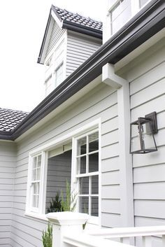 exterior house colours grey coastal - Google Search