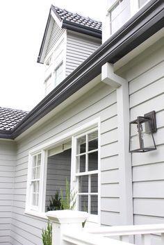 exterior house colours grey coastal - Google Search