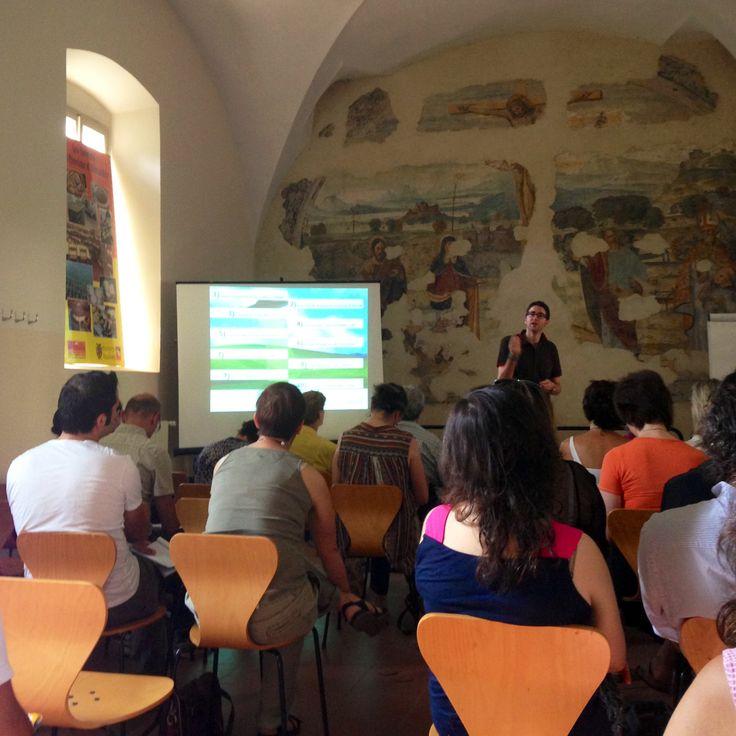 Ad #Alessandria chez ATL Alexala a lezione di turismo 2.0 con Alessio Carciofi e Ninja markerting