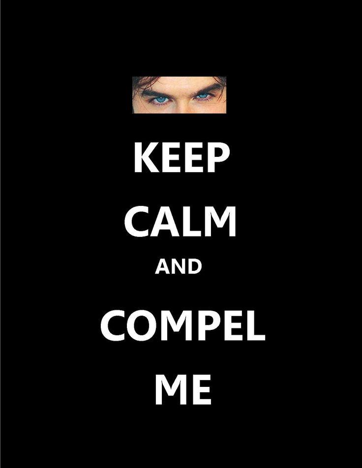 Vampire Diaries, keep calm meme