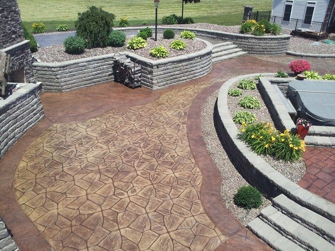 20 best stamped concrete images on Pinterest Patio ideas
