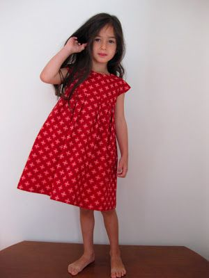 geranium dress with zip (no instructions) - shwe shwe fabric from south africa