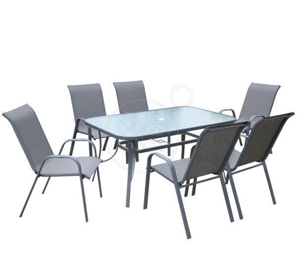 ΤΡΑΠΕΖΙ σετ με 6 ΚΑΡΕΚΛΕΣ, νέα παραλαβή από εισαγωγική εταιρεία, αμεταχείριστα. www. trapezomania. gr. Τραπέζι σε διάσταση 150 x90, τιμή 215€ (001)
