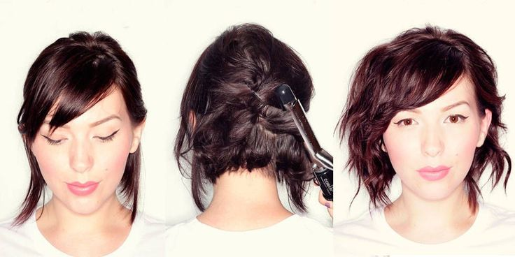 8 lovely short-medium hair tutorials you should steal from Pinterest - CosmopolitanUK