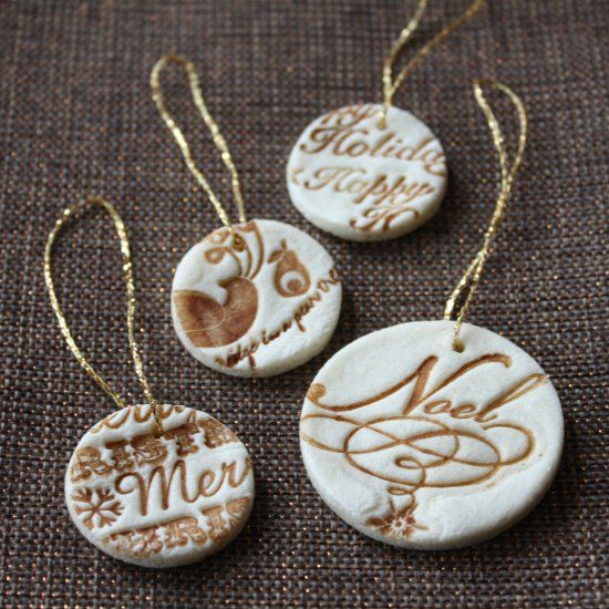 Learn how to make your own salt dough ornaments wi…