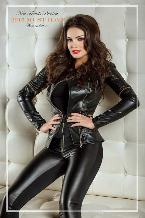 4355 best Women's Leather Fashions images on Pinterest ...