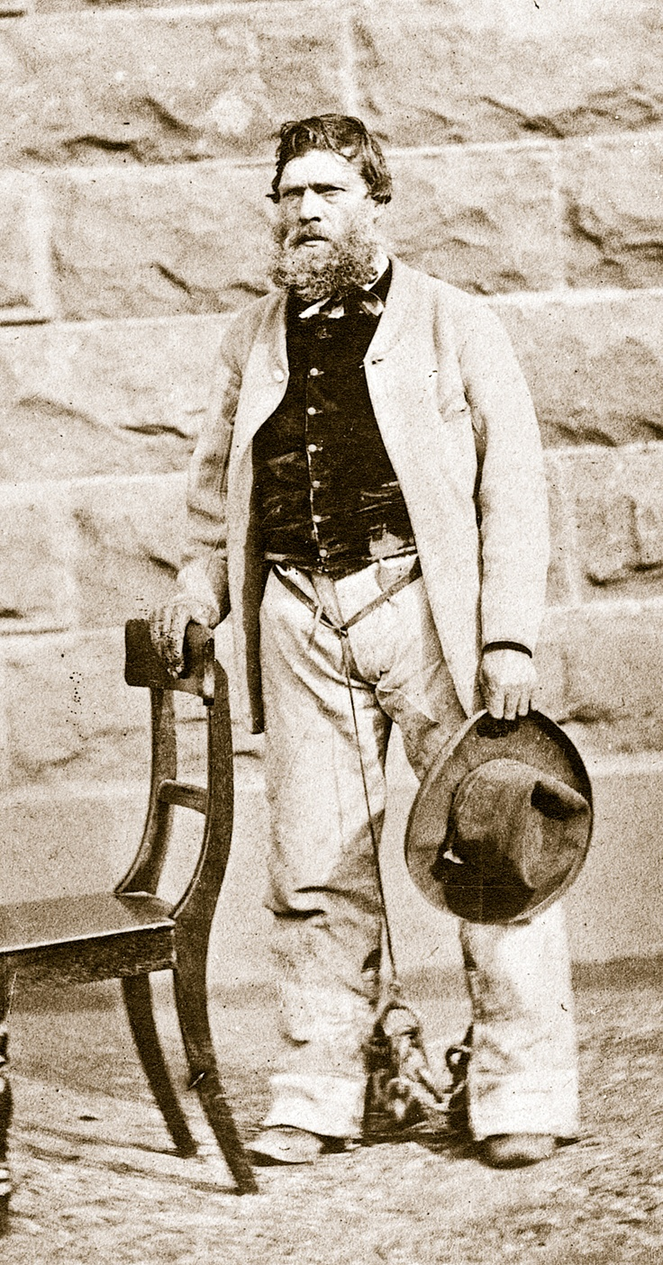 Harry Power was nearly fifty years old when he escaped from Pentridge Prison in February 1869 and commenced a daring fifteen month bushranging career. In 1870, Ned Kelly was charged with being an accomplice of the bushranger Harry Power. The case against him was dismissed for lack of evidence.