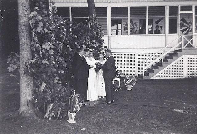 Beachwood's First Wedding