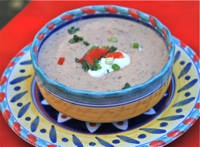 Feijao de Coco - Creamed Black Eyed Peas with Coconut Milk - Recipe for Feijao de Coco
