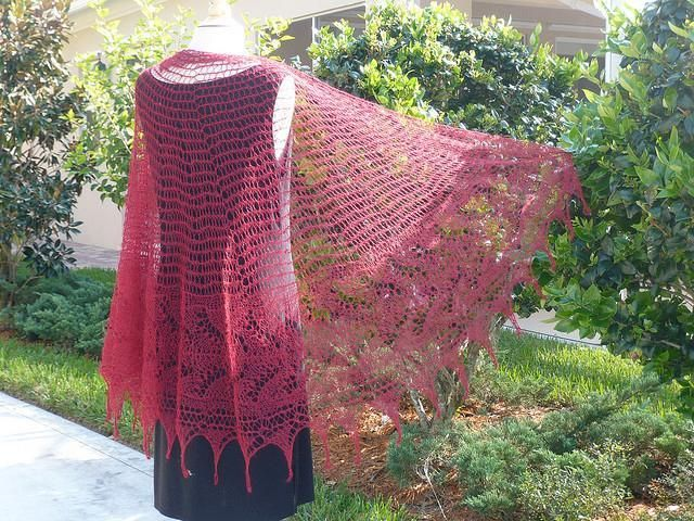 28 best Knit Lace Scarves and Shawls images on Pinterest | Lace ...