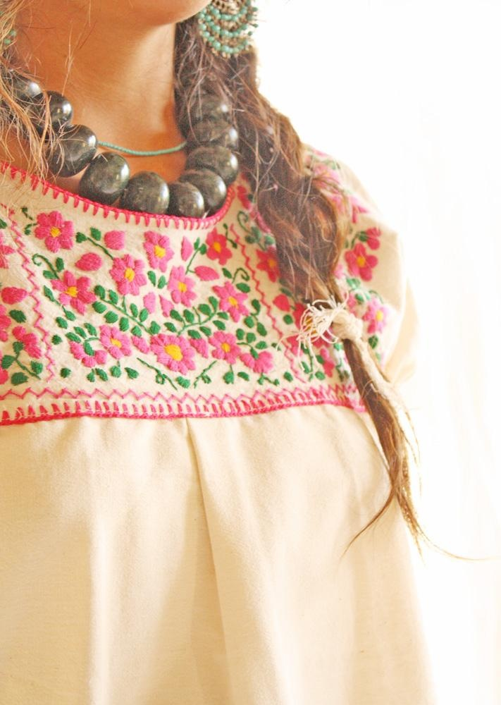 Mexican embroidery.