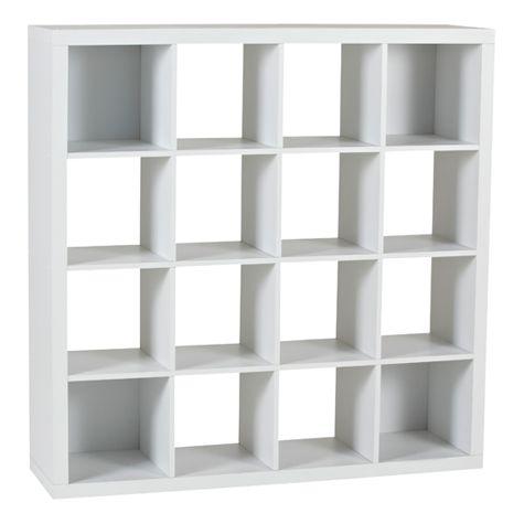 product image for 16 cube storage unit white
