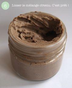 La recette de votre nettoyant visage naturel : vous faut…  4 cuillères à soupe de rhassoul9 cuillères à café d'eau minérale1/2 cuillère à café d'huile de jojoba3 gouttes d'HE d'arbre à thé