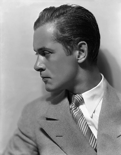 ROBERT MONTGOMERY; photo by George Hurrell