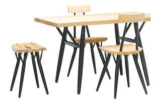 【楽天市場】artek [アルテック] ダイニングテーブル/ピルッカテーブル 120×70:designshop