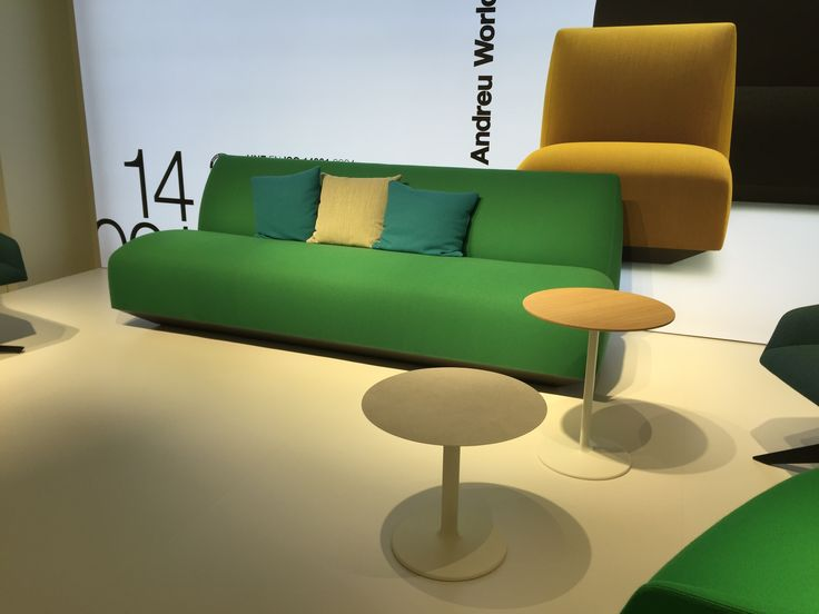 Andreu World Manfred with Dual Occasional Tables