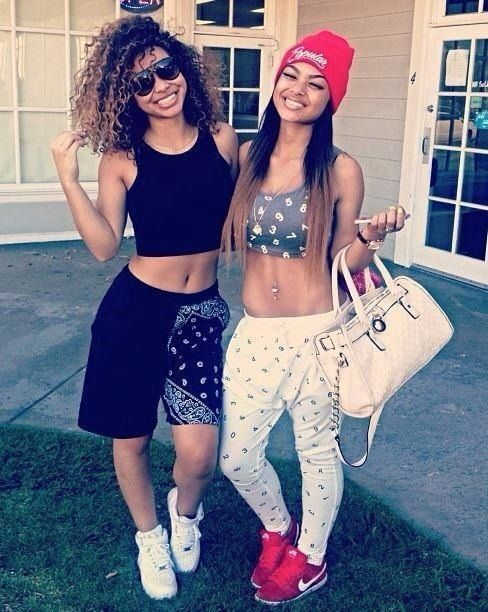Cute ghetto jogger outfits - Google Search | baddie clothes | Pinterest | Printed Sisters and ...
