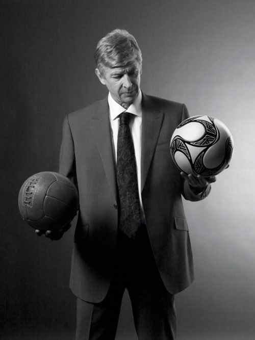Arsene Wenger - the man with balls