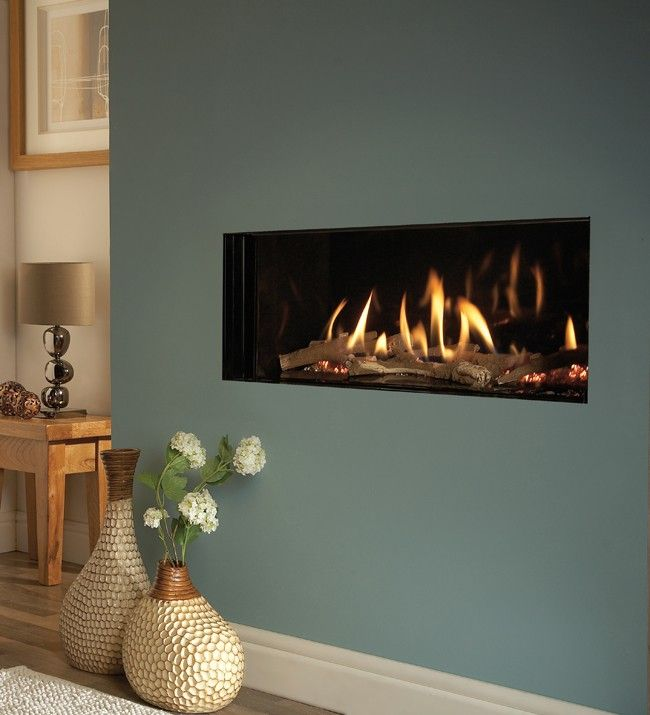 Verine Eden High Efficiency Hole In The Wall Gas Fire - Direct Fireplaces