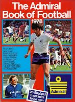 The Admiral Book of Football 1978 ~ The Football Attic