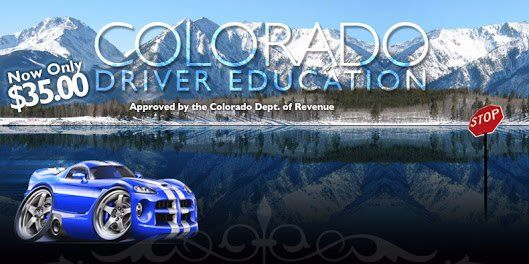 OnlineDrivingSchool Colorado was formed in such a style to recognize all law requirements.