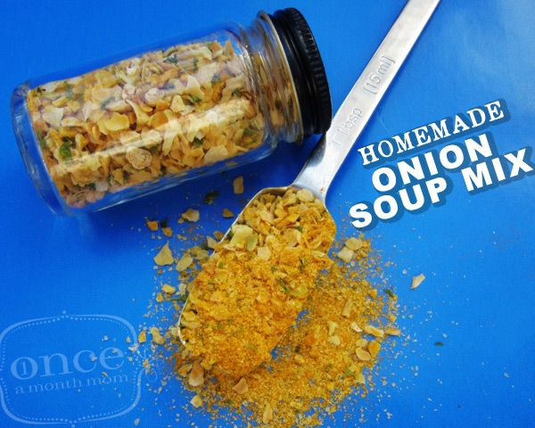 Homemade Onion Soup Mix -a healthy substitute