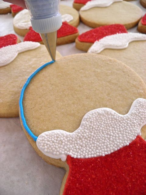 Schneekugel Kekse! Süße Idee für den Weihnachtsteller!
