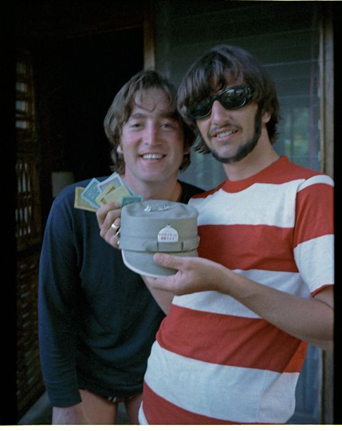 Ringo Starr's Lost Beatles Photo Album Pictures - One Big Holiday | Rolling Stone I ADORE this picture and like to imagine them hanging out, playing Monopoly!