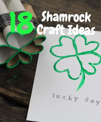 18 Awesome Shamrock Crafts!