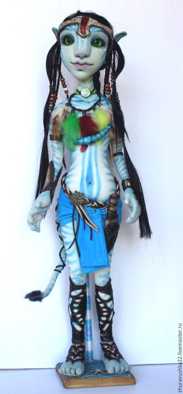 Текстильная кукла Аватарка – купить в интернет-магазине на Ярмарке Мастеров с доставкой