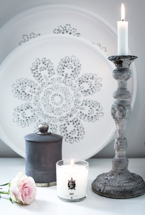 Candleholder design Tove Adman, Trays from Tine K home by HOUSE of PHILIA