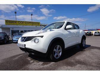 Nissan Juke 1.6 16v Visia 5dr #StupidCute #WhiteCars #Essex