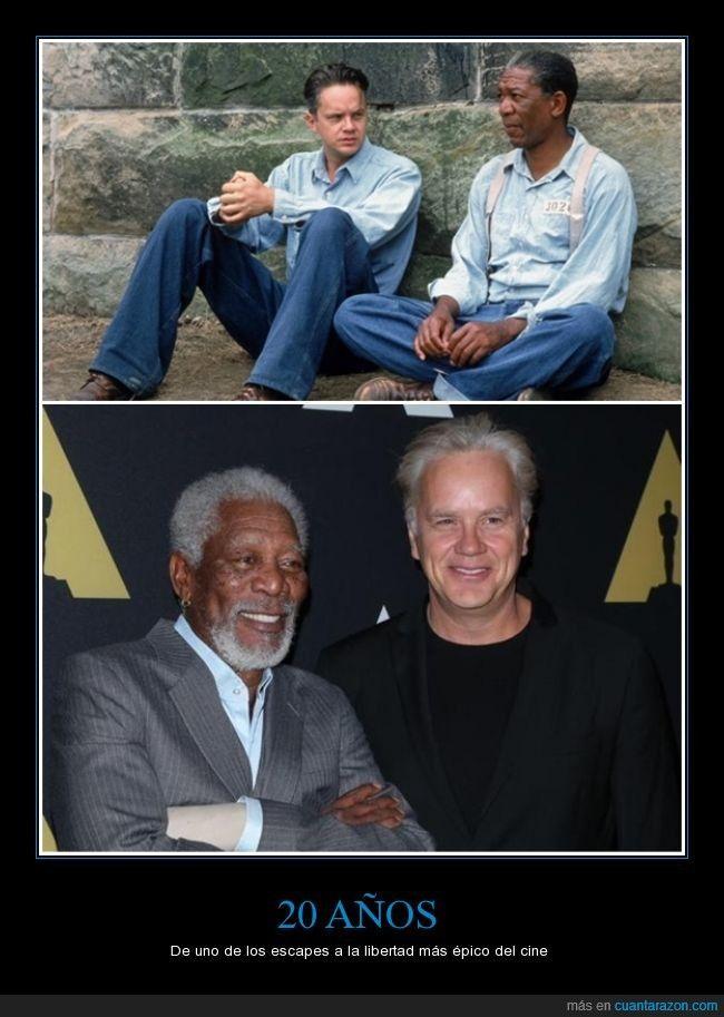 20 años de uno de los escapes a la libertad más épico del cine. #SueñosDeLibertad