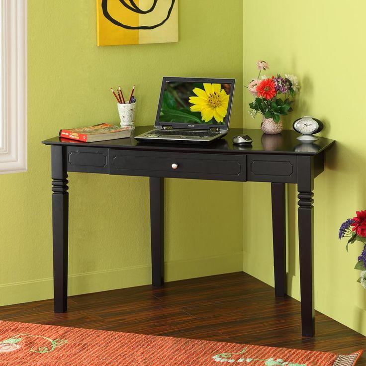 Home Office Wood Corner Desk  by Walker Edison