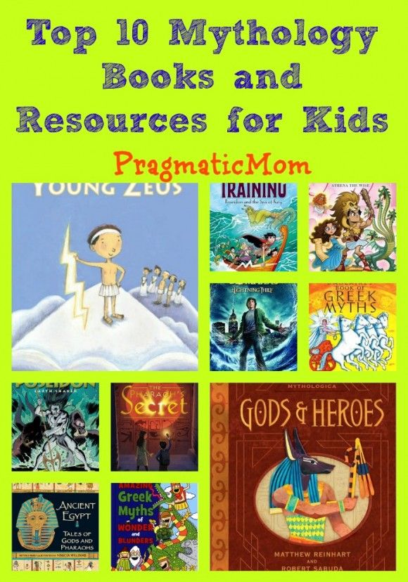 Top 10 Mythology Books and Resources for Kids Check to see which we have in the LRC