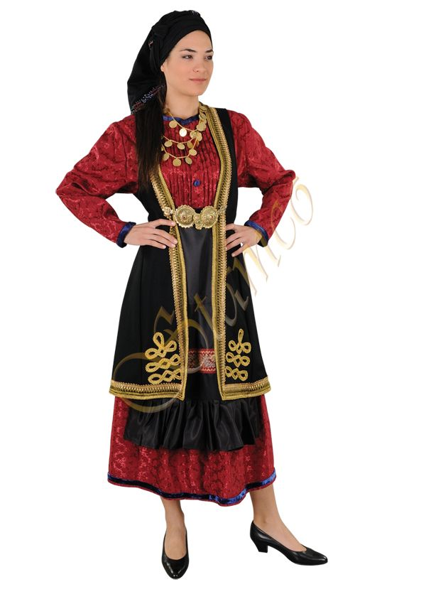 Traditional Greek Costumes | Greek Traditional Ethnic Folklore Costumes made in Hellas Greece by ...