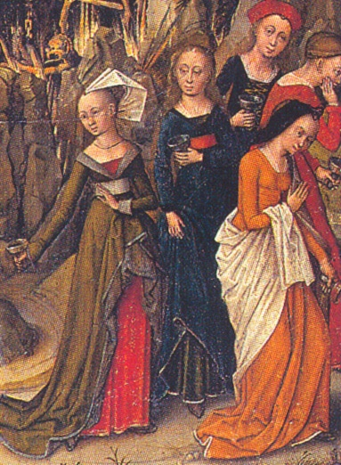 Unknown Master, Flemish (active 1450s in Brussels) Title English: The Last Judgment and the Wise and Foolish Virgins Date1450s and c. 1480