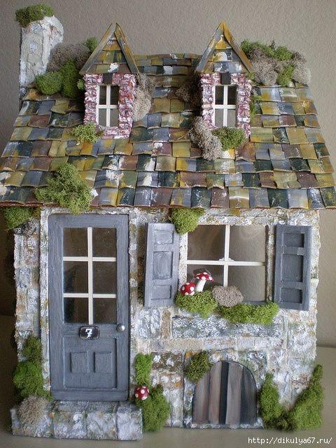Домики для феечки в саду
