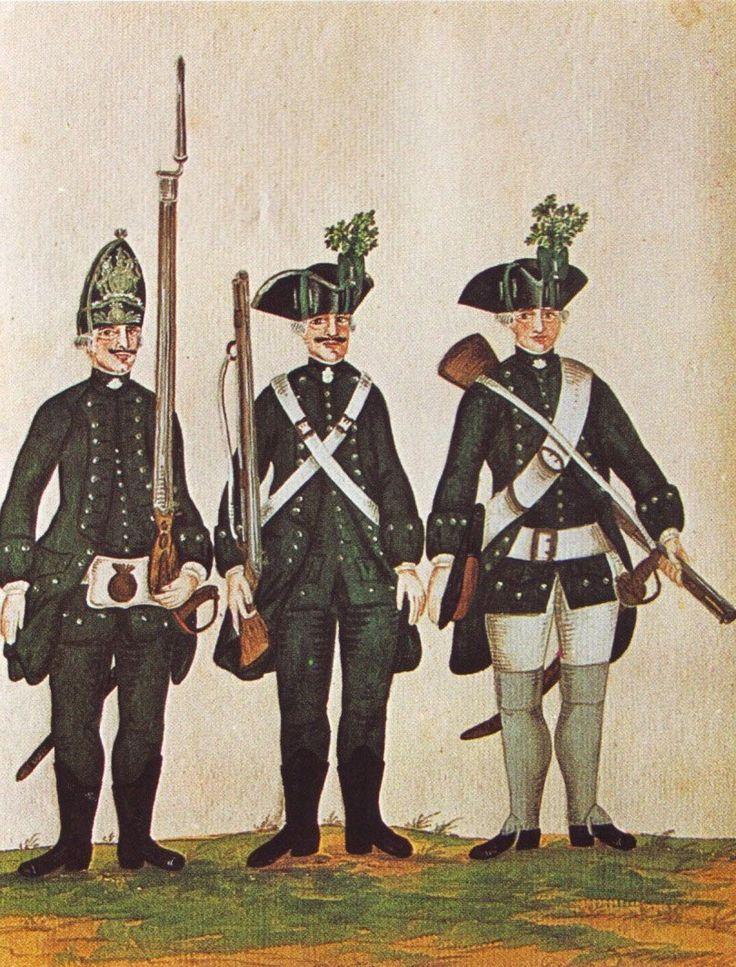 Hanover in the Seven Years War: Infantry of Freytag's Jäger Corps by Karsten