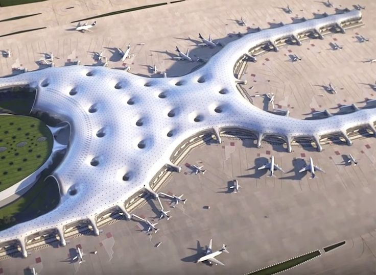 Best 25 city airport ideas on pinterest architectural models mexicos largest ever infrastructure project furthers in its development with critical goals met this year sciox Images