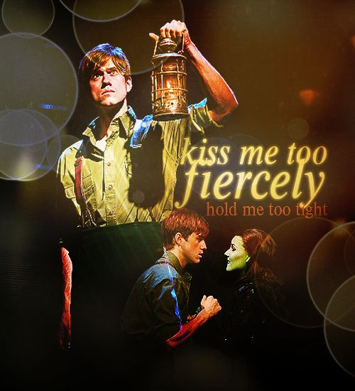 I'm sorry, how did I not know he was Fiyero? What am I doing with my life? Elphaba and Fiyero
