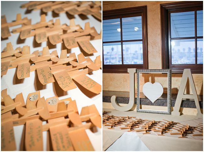 Aviation Themed Wedding - see more at http://fabyoubliss.com
