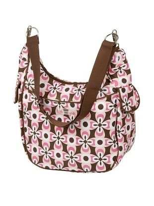 65% OFF The Bumble Collection Chloe Convertible Diaper Bag, Pink Geo Print
