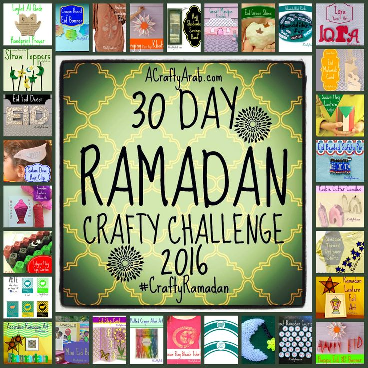 When I was looking for Ramadan crafts to make back in July 2011, it was because there were no creative website that met our heritage and cultural needs. As an Arab artist, I had the resources to create crafts with them in my studio, at the same time spending time with them individually talking about Islam, Ramadan …