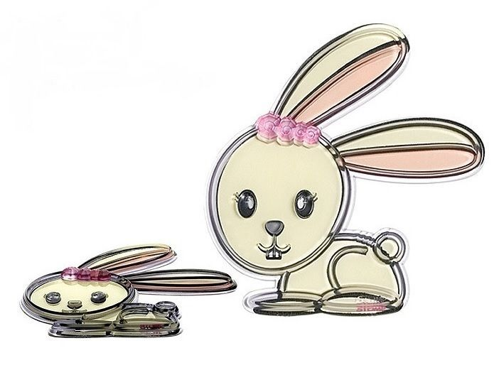 *NEW* Stomp Design Critters Series Girl Bunny Rabbit Snowboard Stomp Pad **NIB**