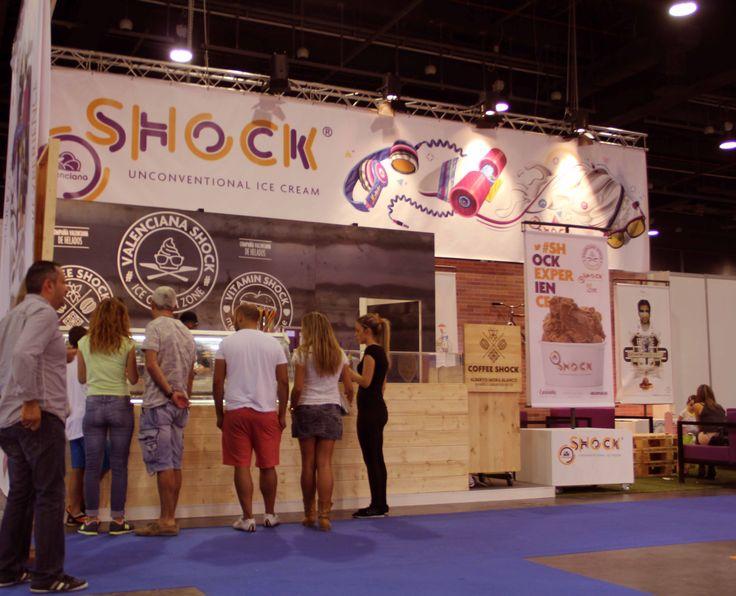 Salón Internacional de la Franquicia 2014 en la Feria de Muestras de Valencia www.valencianashock.com