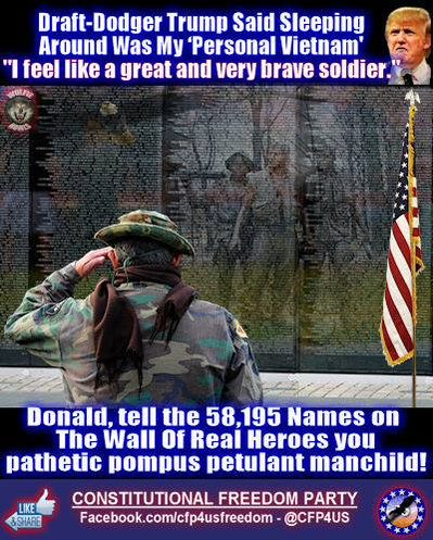 articles draft dodger trump said sleeping around personal vietnam