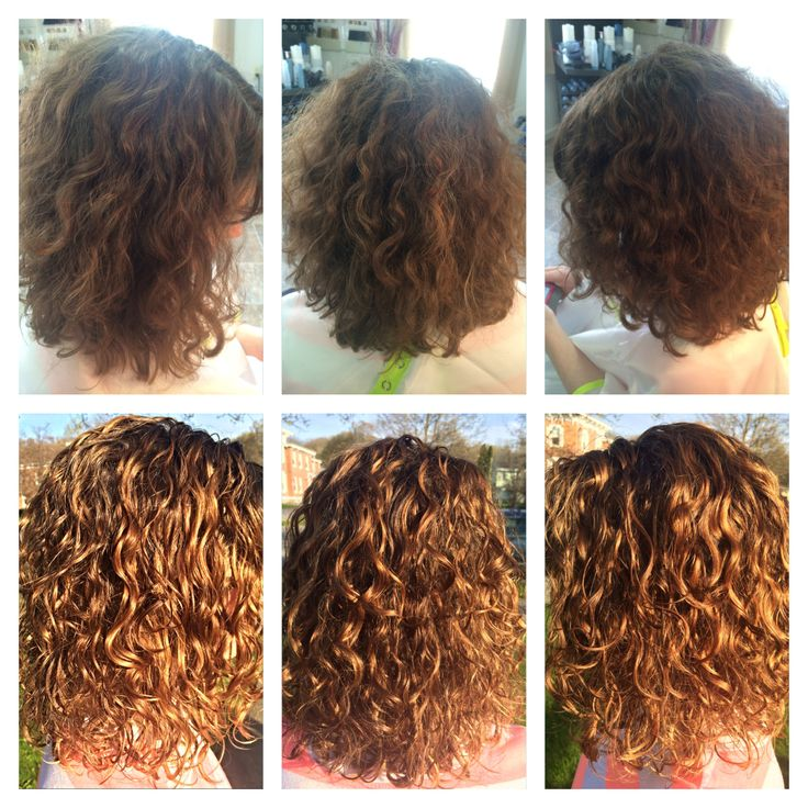 Before Amp After Deva Curl Cut Amp Bayalage Highlights Curls